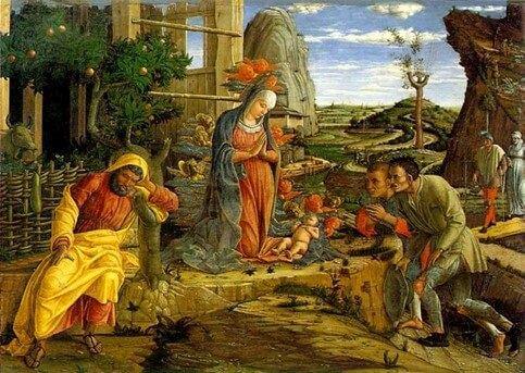 Andrea Mantegna - Adorazione dei pastori