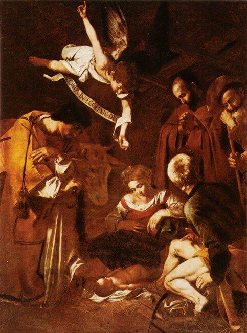 Caravaggio - La Natività