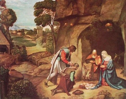 Giorgione – Natività allendale