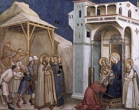 Giotto - L'adorazione dei magi