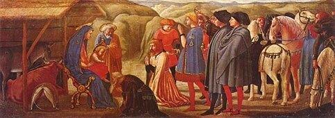 Masaccio - L'adorazione dei magi