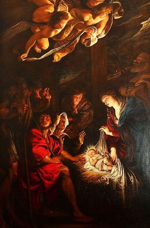 Pieter Paul Rubens - L'adorazione dei pastori