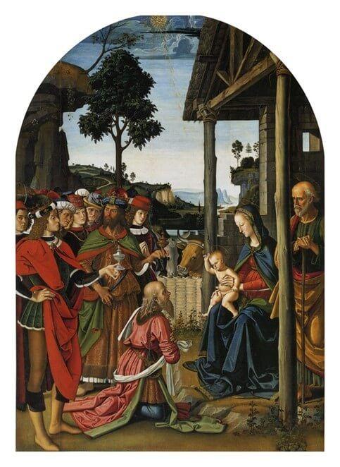 Pietro Perugino - L'adorazione dei magi