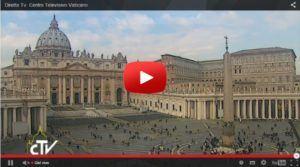 papa francesco live streaming